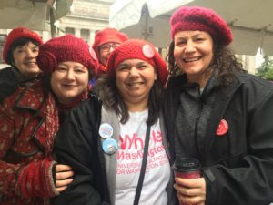 The Women's March team